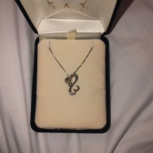 Kay Jewelers Jewelry - Kay Double Open Heart necklace